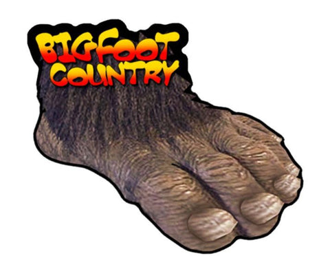 Bigfoot Country Magnet