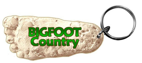 Bigfoot Cast Keyring