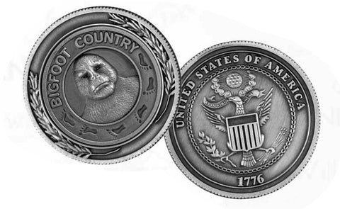 Bigfoot Medallion Coin