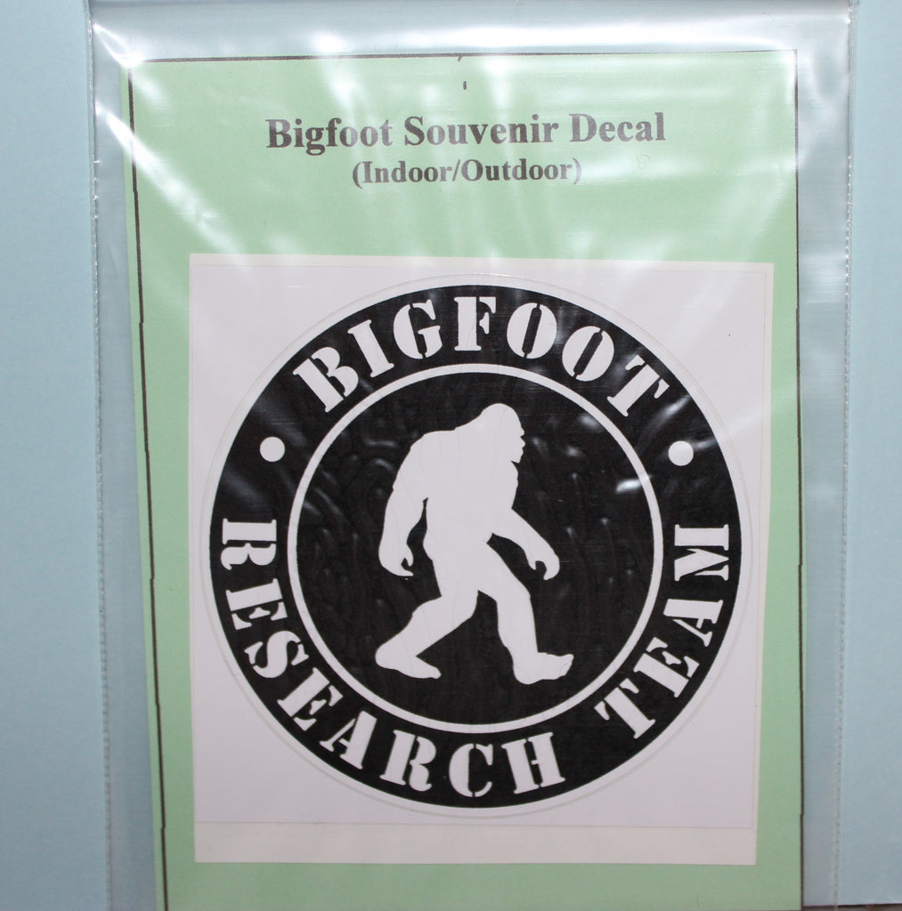 Bigfoot Research Team Auto Sticker