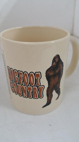 Bigfoot Country Mug