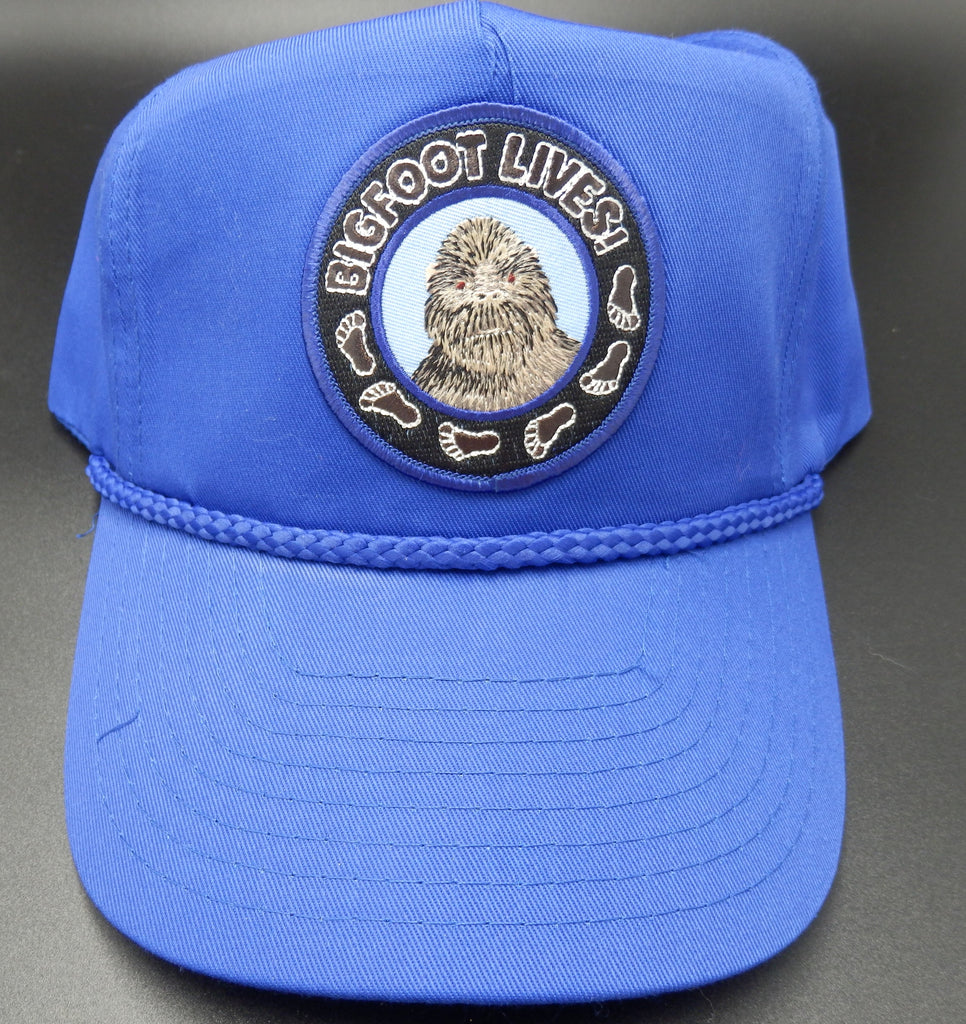 Bigfoot Lives Cap, Embroidered Patch
