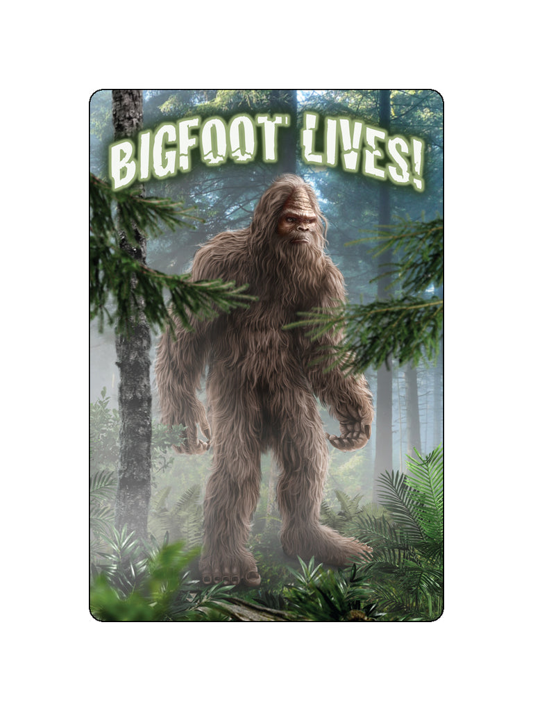 Bigfoot Lives Poster