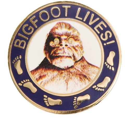 Bigfoot Lives Pin