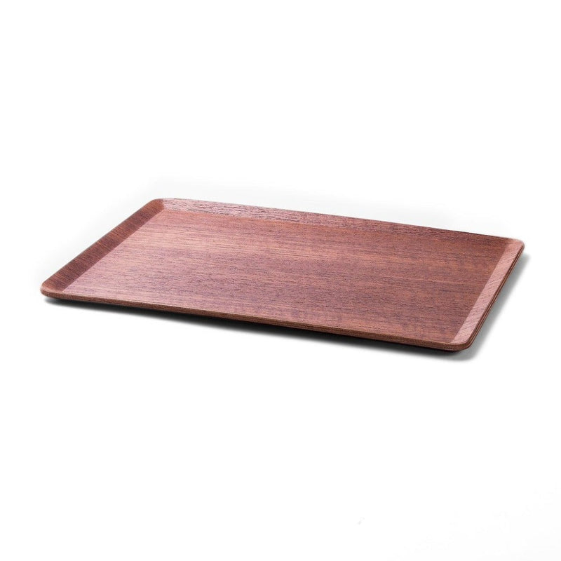 Tablett aus Teakholz  Tablett Sheet Tray Teak - large Accessoire Paper & Tea