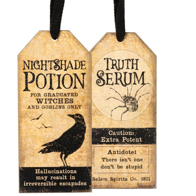 Truth Serum Bottle Tag