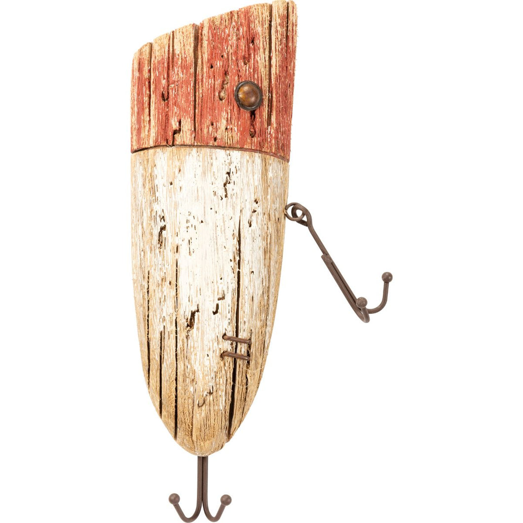 Rustic Lure Hook Board