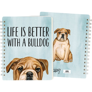 Bulldog Spiral Notebook