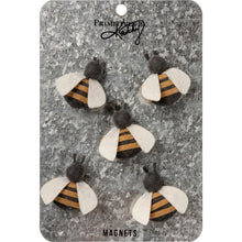 Load image into Gallery viewer, Bee Magnet Set