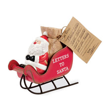 Load image into Gallery viewer, Letters to Santa Sleigh