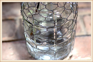 Wire Wrapped Bottle