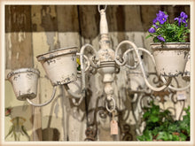Load image into Gallery viewer, White Chandelier-Style Planter