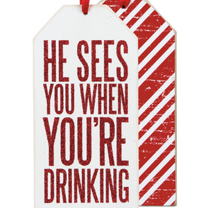 You're Drinking Bottle Tag