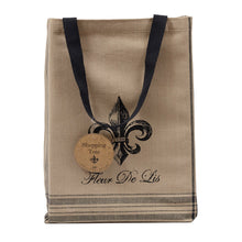 Load image into Gallery viewer, French Grain Sack Printed Totes, Set of 3