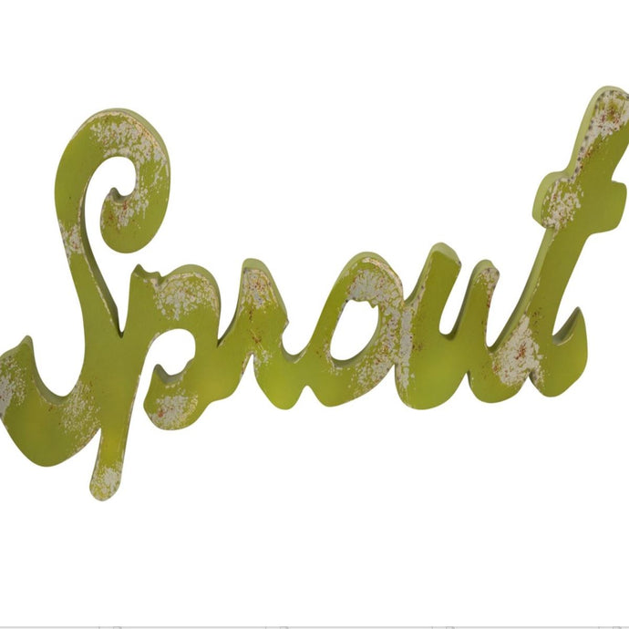 Sprout Ironwork Sign