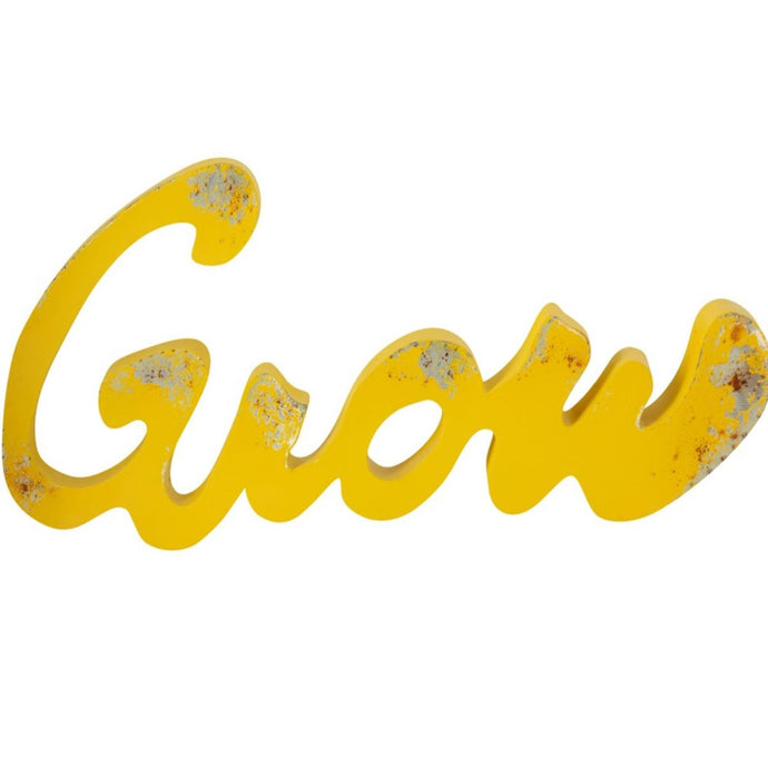 Grow Ironwork Sign