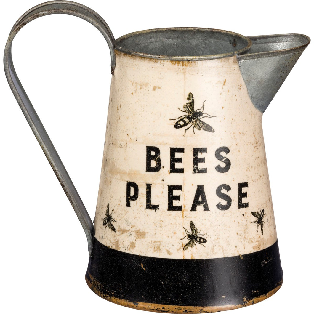 Bees Please Pitcher