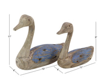 Load image into Gallery viewer, Weathered Wood Duck Decoy Reproductions