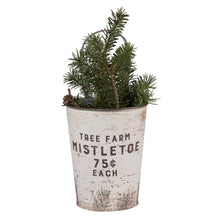 Load image into Gallery viewer, Tree Farm Wall Buckets, Set of 2