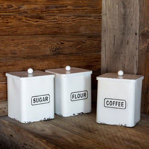 Provision Canisters, set of 3