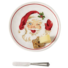 Load image into Gallery viewer, Vintage Santa Cheese Set