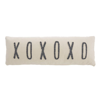 XOXOXO Long Pillow