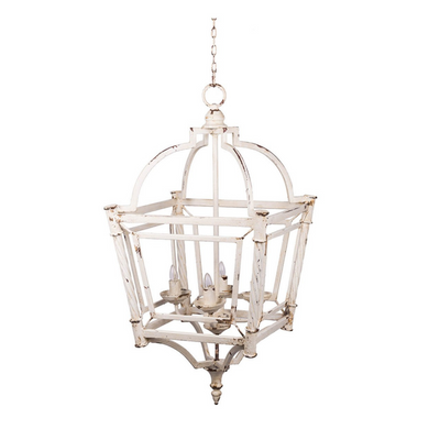 Weathered Lantern Chandelier