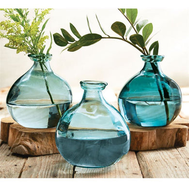 Irregular Blue Vases