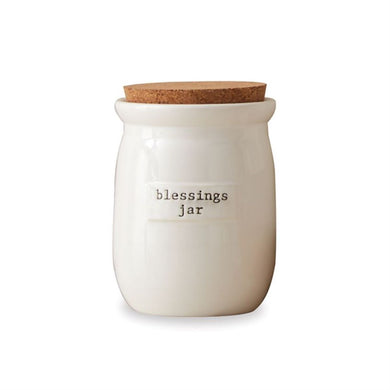 Ceramic Blessings Jar