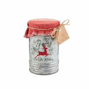 Christmas Tin Candles