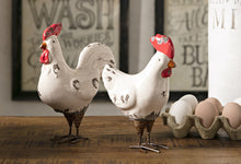 Load image into Gallery viewer, Ceramic Rooster Figurines