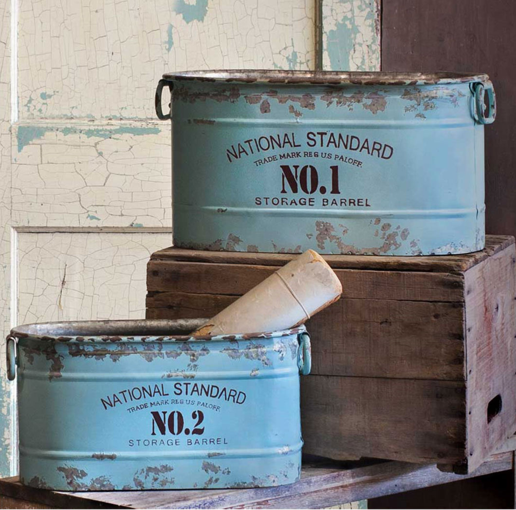 National Standard Buckets, Set of 2