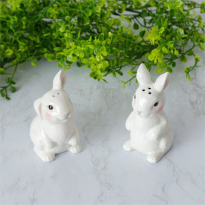 Ceramic Bunny Salt & Pepper Pair