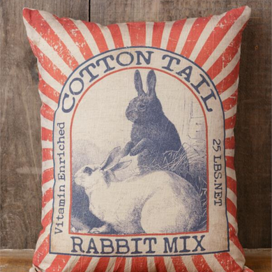 Rabbit Mix Pillow