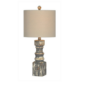 Chunky Post Table Lamp