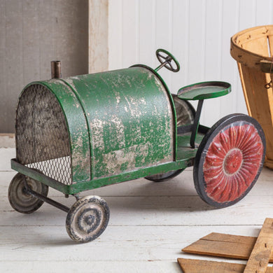 Weathered Green Tractor