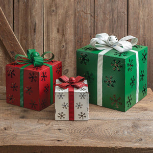 Metal Christmas Gift Boxes