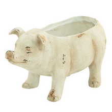 Load image into Gallery viewer, Oversized Pig Planter Pot