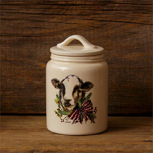 Farmhouse Winter Canister