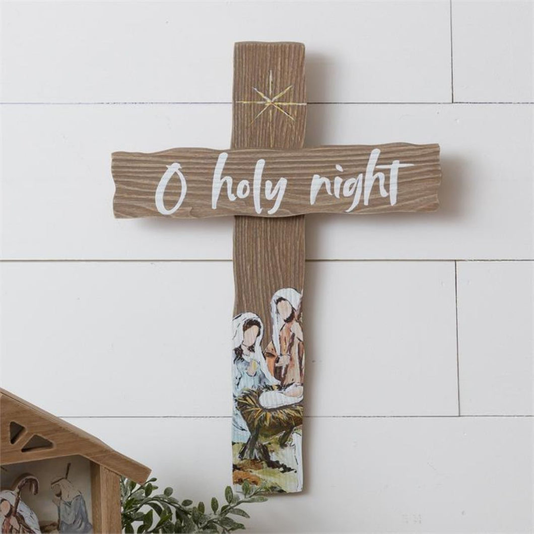 O Holy Night Cross