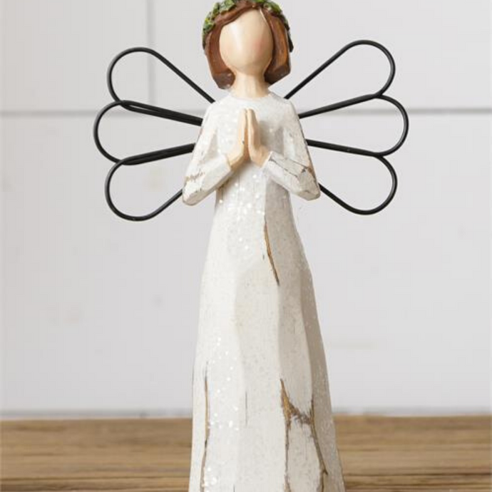 Angel Figurine Praying Hands