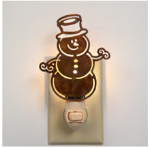 Load image into Gallery viewer, Snowman Night Light