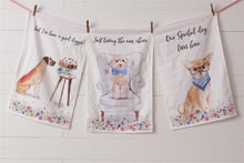 Load image into Gallery viewer, Playful Pups Dish Towels, Set of 3