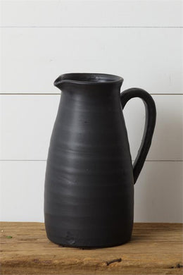 Black Matte Pitcher