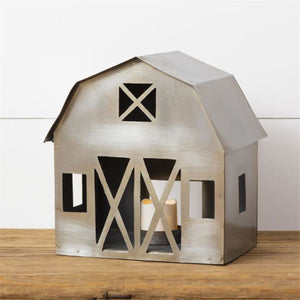 Barn Tea Light Holder