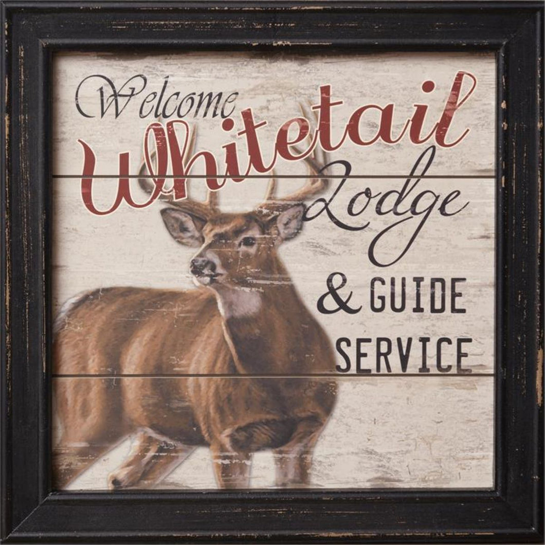 Whitetail Lodge Sign