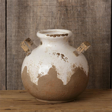 Earthenware Round Vase