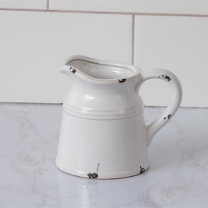 Mini Crackle Pitcher