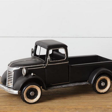 Antique Black Truck