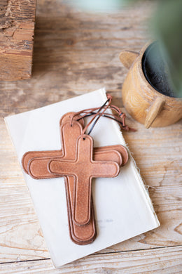 Leather Crosses
